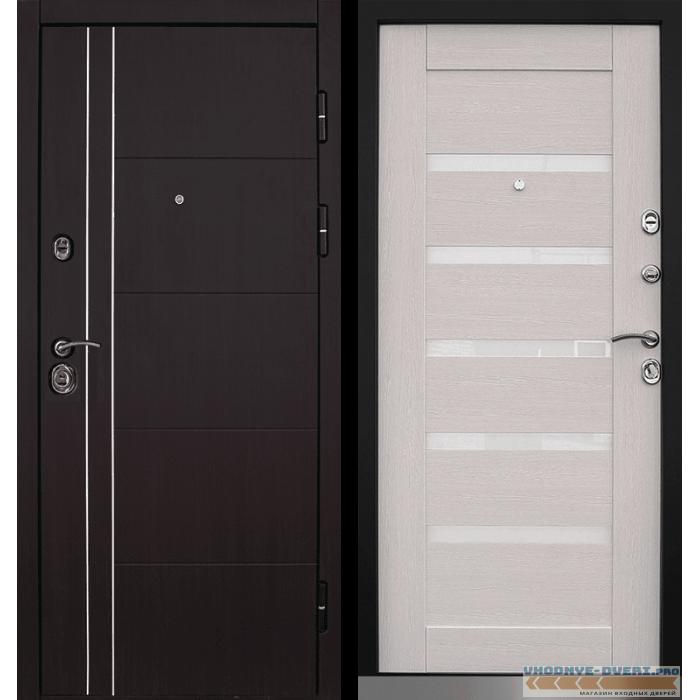 Дверь Йошкар Ола Техно 3 с молдингом и пленкой Винорит
