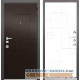 Входная дверь Mastino Forte (Шоколад молочный MS-113 / Милк матовый MS-113)