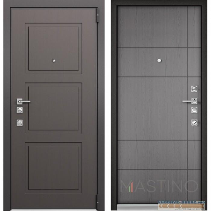 Входная дверь Mastino Forte (Синхропоры модерн MS-104 / Синхропоры титан MS-114)