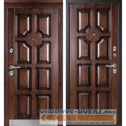 Входная дверь Металюкс Статус М707/2 с капителью
