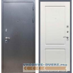Входная дверь REX 11 Антик серебро ФЛ-117 Силк сноу