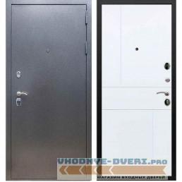 Входная дверь REX 11 Антик серебро ФЛ-290 Силк сноу
