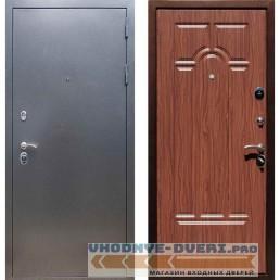 Входная дверь REX 11 Антик серебро ФЛ-58 Береза мореная