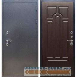 Входная дверь REX 11 Антик серебро ФЛ-58 Венге
