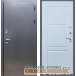 Входная дверь REX 11 Антик серебро ФЛ-3 Силк сноу