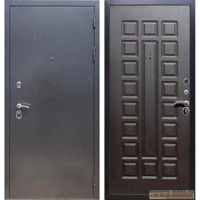 Входная дверь REX 11 Антик серебро ФЛ-183 Венге