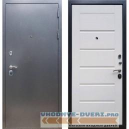 Входная дверь Рекс 11 Белый Ясень ( Трехконтурные )