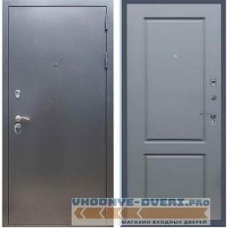 Входная дверь REX 11 Антик серебро ФЛ-117 Силк титан