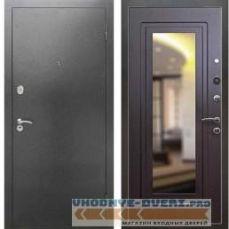 Входная металлическая дверь Рекс 2А Серебро антик ФЛЗ 120 Венге