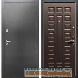 Входная металлическая дверь Рекс 2А Серебро антик ФЛ 183 Венге