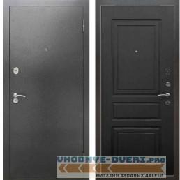 Входная металлическая дверь Рекс 2А Серебро антик ФЛ 243 Венге