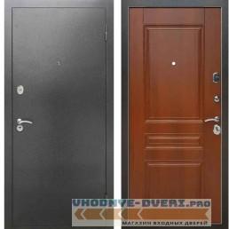 Входная металлическая дверь Рекс 2А Серебро антик ФЛ 243 Орех итальянский
