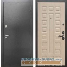 Входная металлическая дверь Рекс 2А Серебро антик ФЛ 183 Беленый дуб