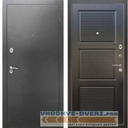 Входная металлическая дверь Рекс 2А Серебро антик ФЛ 1 Венге