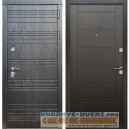 Входная дверь Рекс 14 Роял вуд черный Сити Венге