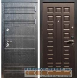 Входная дверь Рекс 14 Роял вуд черный ФЛ-183 Венге
