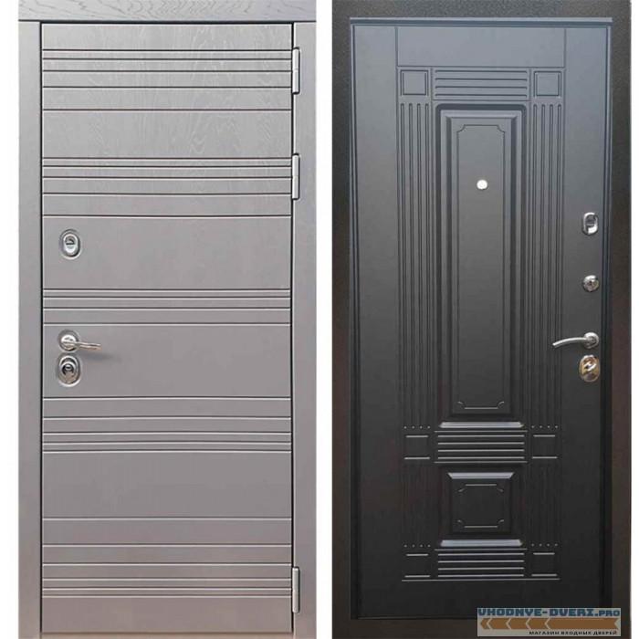 Входная дверь Рекс 14 Роял вуд графит ФЛ-2 Венге