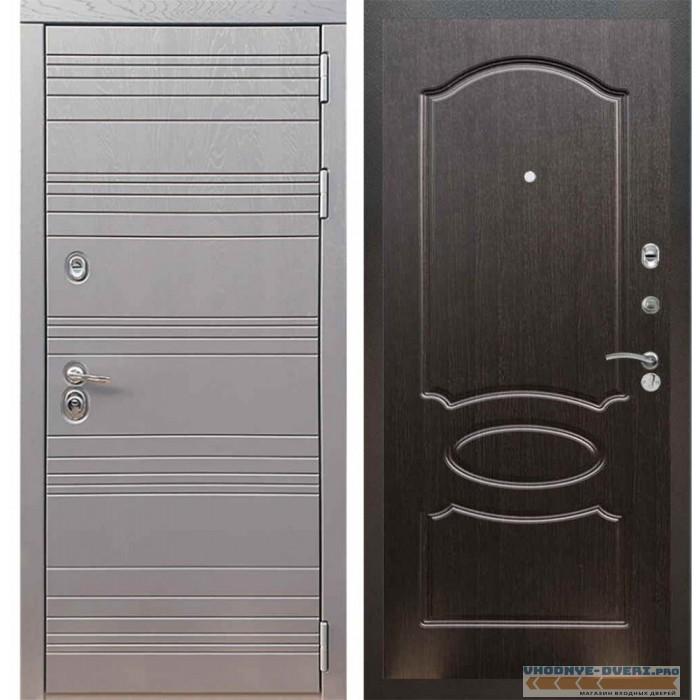 Входная дверь Рекс 14 Роял вуд графит ФЛ-128 Венге