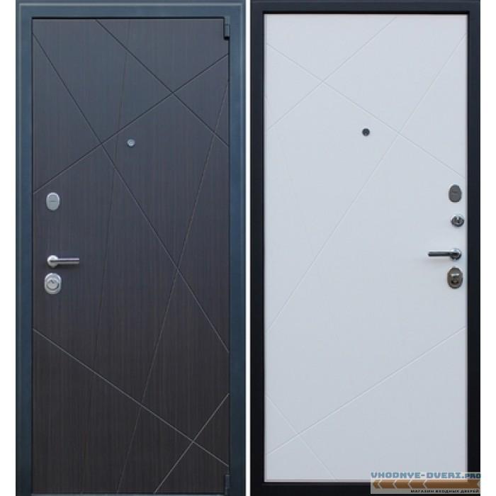 Входная металлическая Дверь АСД Вектор Пастель молочная