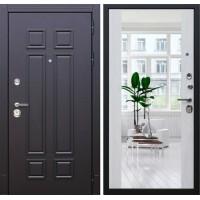 Входная металлическая Дверь АСД Виват с зеркалом