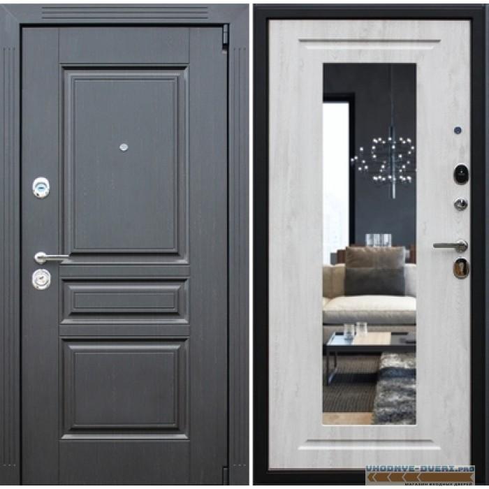 Входная металлическая Дверь АСД Гермеc New-Зеркало