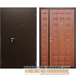 Дверь АСД Двустворчатая NEW в цвете темный орех