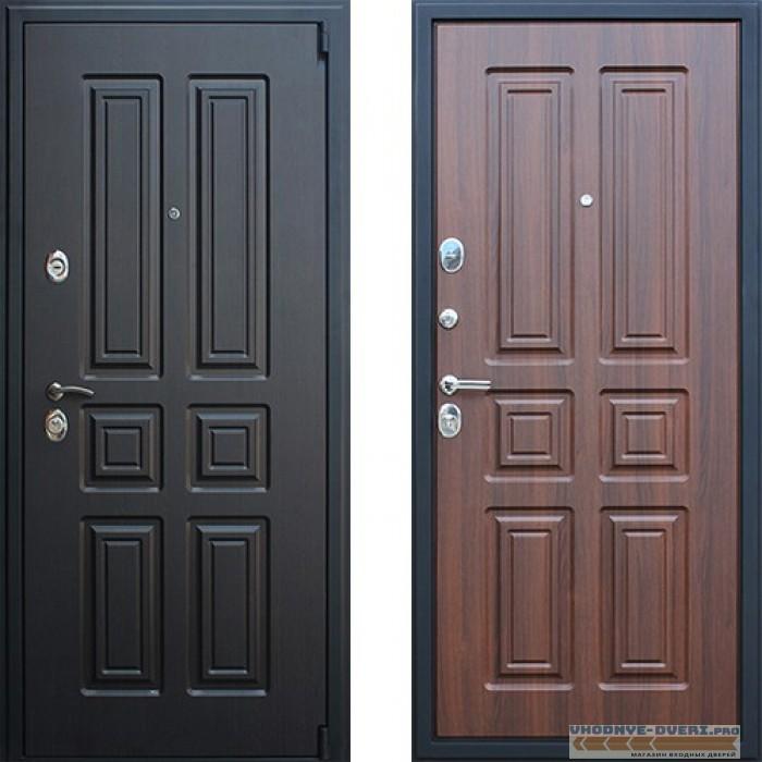 Дверь АСД Атлант в цвете орех бренди