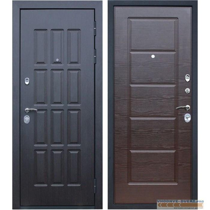 Дверь АСД Фортуна в цвете венге и венге