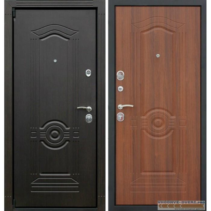 Дверь АСД Фортуна в цвете венге и орех бренди