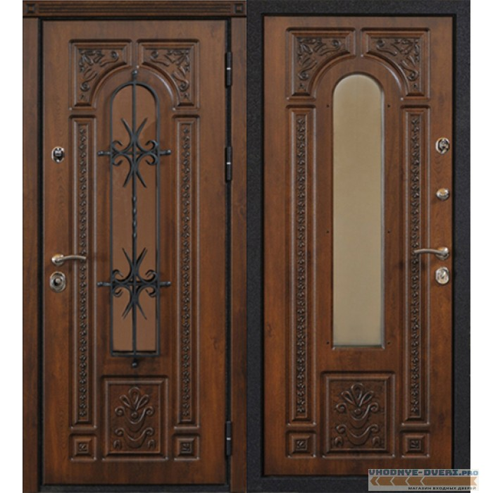 Дверь Йошкар Ола  ковкой Лацио