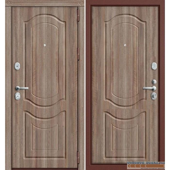 Дверь Грофф P3-300 в цвете темный орех