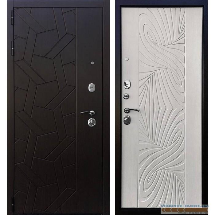 Дверь Ратибор Витраж 3К Лиственница