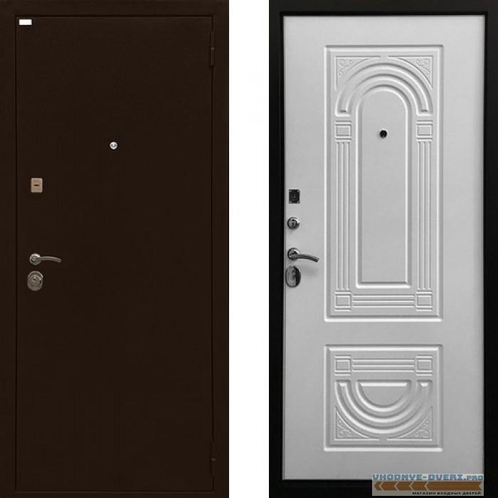 Дверь Ратибор Оптима 3К Матовый Белый
