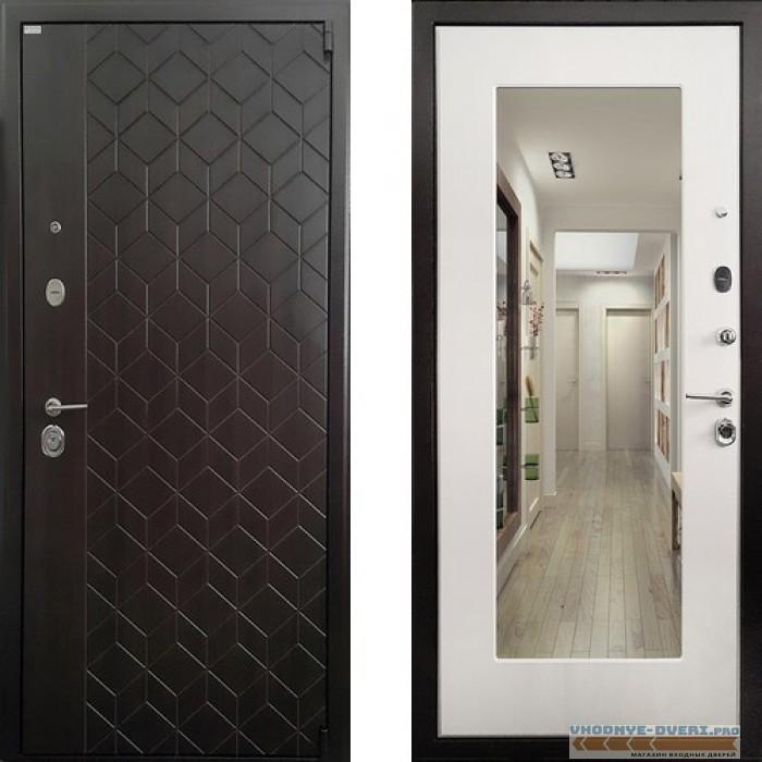 Входная дверь Ратибор Квант 3К Лиственница Беж