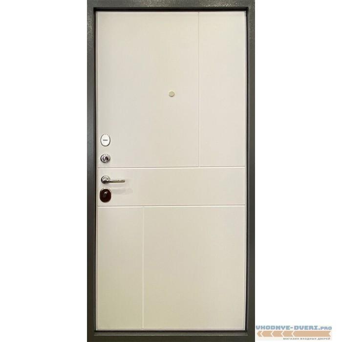 Дверь Ратибор Мегаполис 3К Силк сноу