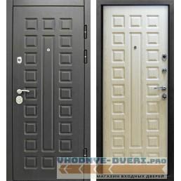 Дверь Сенатор 3К Винорит венге-беленый дуб (Улица)
