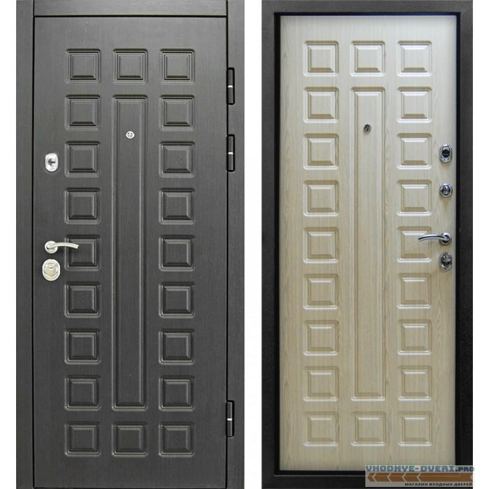 Дверь Сенатор в цвете белёный венге