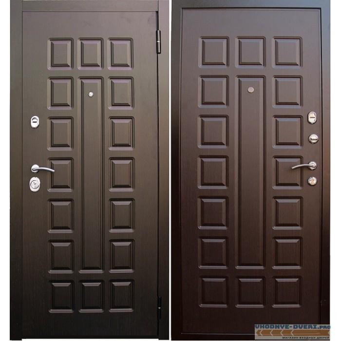 Дверь Сенатор в цвете венге-венге