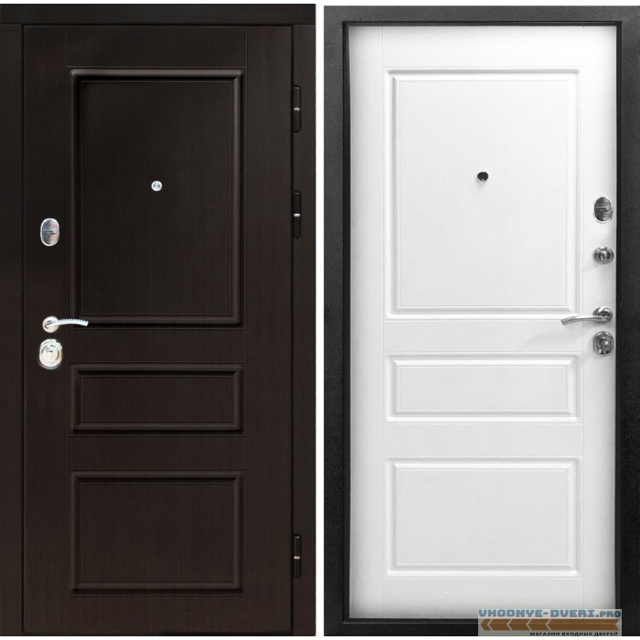 Дверь Сенатор Гранд белая эмаль