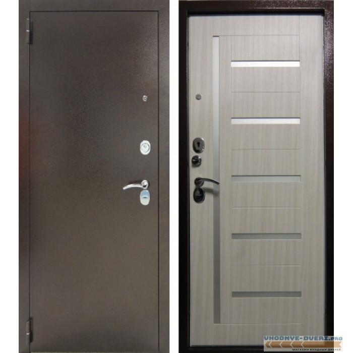 Заводские двери Тандем Дана в цвете Сандал