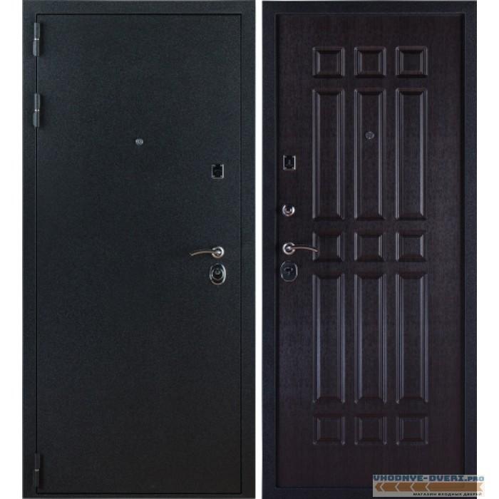Заводские двери 3К Лайт в цвете черный Бархат - венге