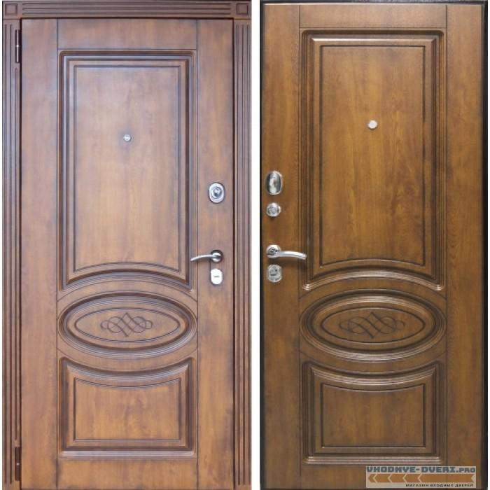 Заводские двери Орион Винорит в цвете Golden патина