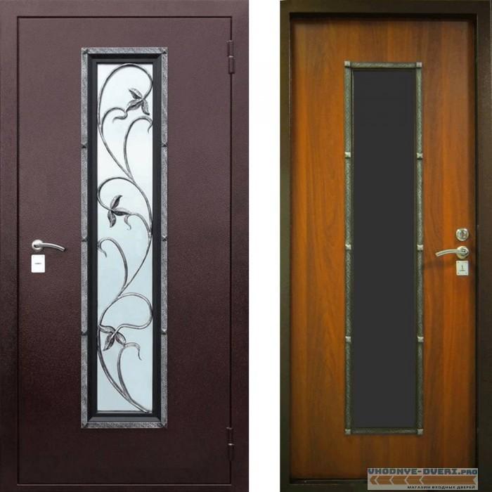 Заводские двери Лоза-1 с ковкой