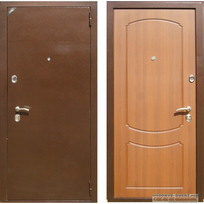 Дверь Зетта Стандарт 2 БП1 лесной орех