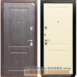 Дверь Зетта Евро 3 Б2 в цвете черное серебро / перламутр