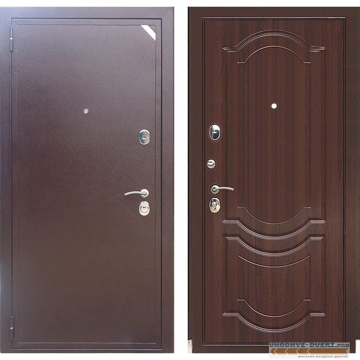 Дверь Зетта ЕВРО 2 Б2 в цвете темный орех