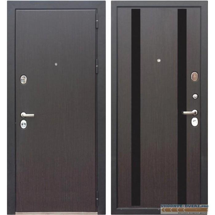 Дверь Зетта ПРЕМЬЕР 100 КБ1 МЕТРО венге кантри
