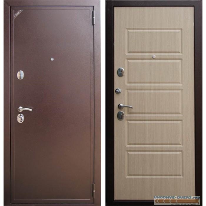 Дверь Зетта Евро 2 Б2 беленый венге