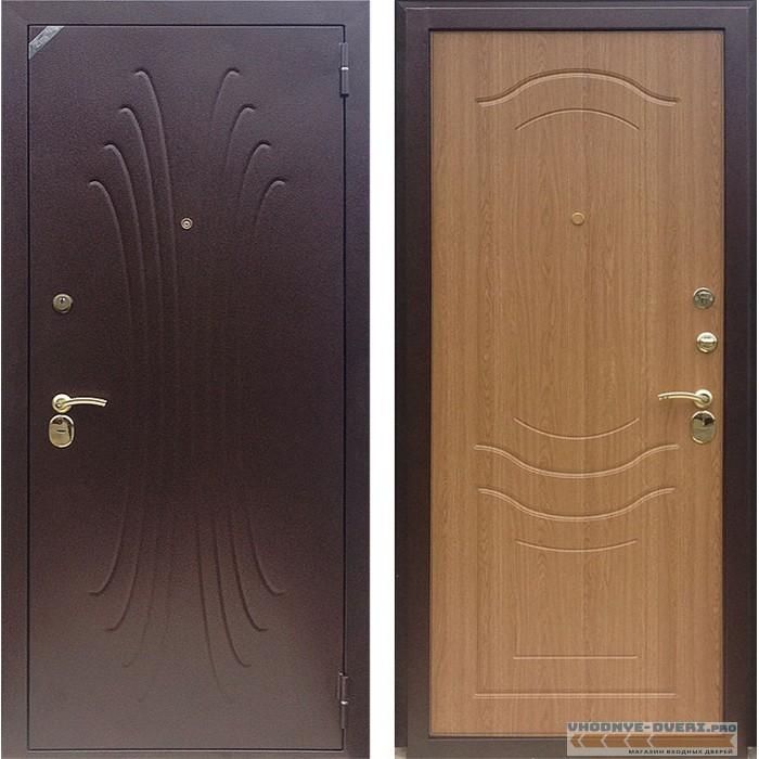 Дверь Зетта Комфорт 2 Б1 золотистый дуб