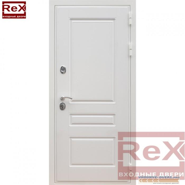 Металлическая дверь ReX 6 Силк сноу